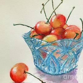 Bowl of Cherries  by Lavender Liu