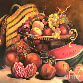 Farideh Haghshenas - Bowl of Fruit