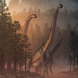 Brachiosaurus Valley by Daniel Eskridge
