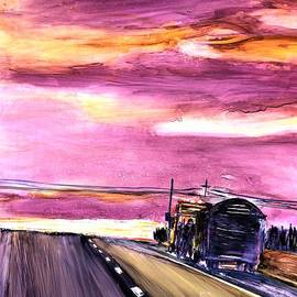 Breakdown Truck Driving Day by Patty Donoghue