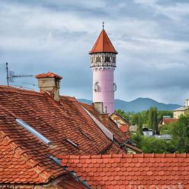 Brezica Rooftops #3 by Norman Gabitzsch