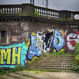Bridge Graffiti - Hamburg