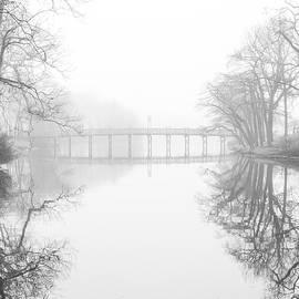 Bridge in the Fog, Spring Lake N.J. by Sean Sweeney