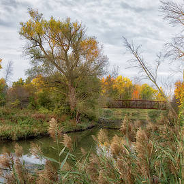 Bridge Over Ellicott Creek by Guy Whiteley