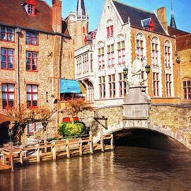 Bridges of Bruges Belgium by Carol Japp