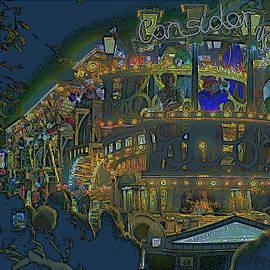 Bridgewater Carnival In Art by Lance Sheridan-Peel