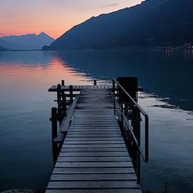Brienz Lake. Alps. Switzerland by Guido Montanes Castillo
