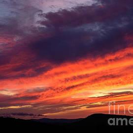 Alana Ranney - Bright Colorful Sunset