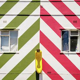 Bright house facade by Alexey Stiop