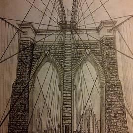 Brooklyn Bridge by Irving Starr