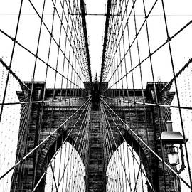 Brooklyn Bridge Web Vertical by Nicklas Gustafsson