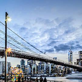 Brooklyn Twilight by Az Jackson