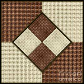 Brown and Tan Neutral Textured for Pillows by Delynn Addams