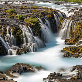 Bruarfoss Waterfall of Iceland by Pierre Leclerc Photography
