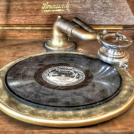 Brunswick Phonograph 2 by Donna Kennedy