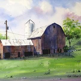 Bucolic Barn by Jim Oberst