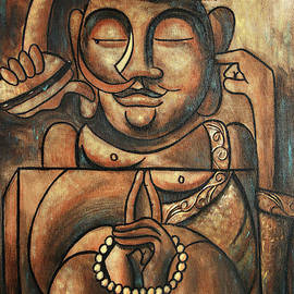 Buddha And A Burger by Anthony Falbo
