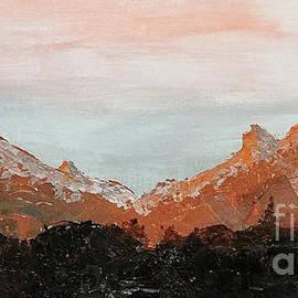 Buffalo and Red Mountains, Colorado by Escudra Art