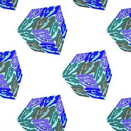 Barbara Searcy - Buffalo Spirit pattern in Blue