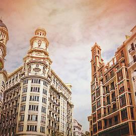 Buildings of Valencia Spain by Carol Japp