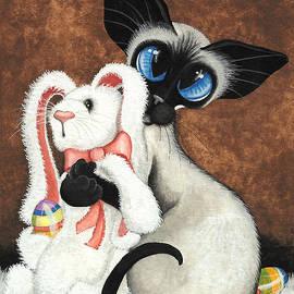 AmyLyn Bihrle - Bunny Hug Siamese Cat