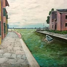 Burano Out To Sea by Irving Starr
