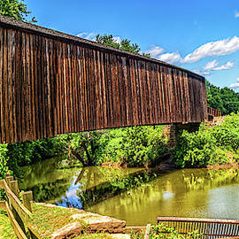 Burfordville Covered Bridge by Gestalt Imagery