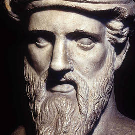 Bust Of Pythagoras, Greek Philosopher And Mathematician by Greek School