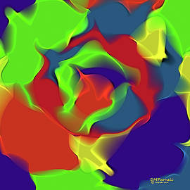 Busy Colors Flow by Diane Parnell