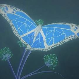 Butterfly Number 1 by Ksenia Alexandrovna