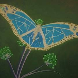 Butterfly Number 2 by Ksenia Alexandrovna