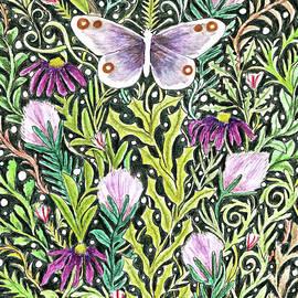Butterfly Tapestry Design by Lise Winne