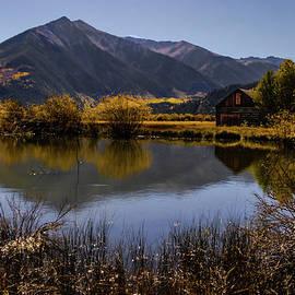 Cabin Beside the Lake by Norma Brandsberg
