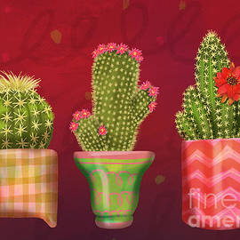 Cactus Friends I by Shari Warren