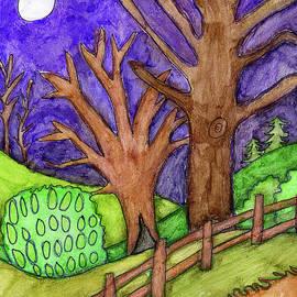 Caden's Landscape 6 by Amy E Fraser and Caden Fraser Perkins