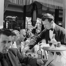 Cafe Culture by Bert Hardy