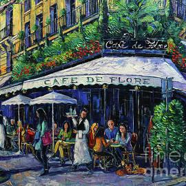Cafe De Flore Paris by Mona Edulesco