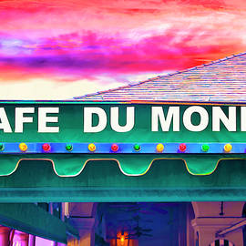 Cafe Du monde Sunset by Dominic Piperata