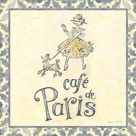 Naomi McBride - Cafe Paris V  Square