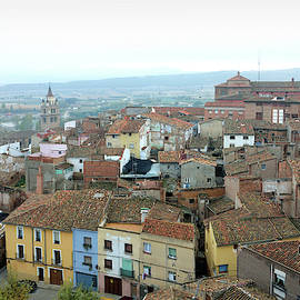Calahorra from the bell tower of Saint Andrew church by RicardMN Photography
