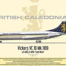 Caledonian VC10 by Marco Riva