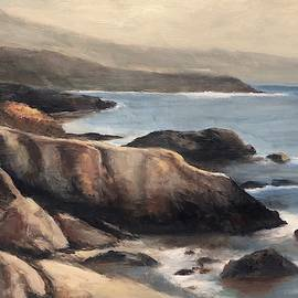 California Coast No. 7 - More Big Sur by Terry Orletsky