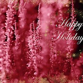 Calluna Happy Holidays In Red 1 by Johanna Hurmerinta