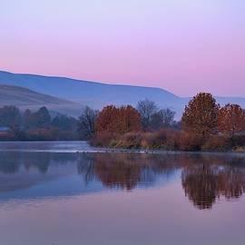 Calm waters by Lynn Hopwood
