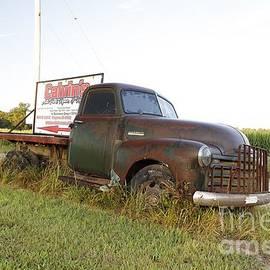 Calvin's Truck by Steve Gass