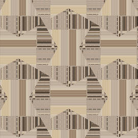 Camel Beige Pattern Art by Judi Suni Hall
