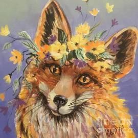 Camouflage artist by Lorraine Danzo