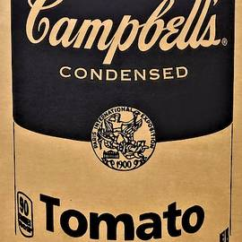 Campbell's Soup On Cardboard by Rob Hans