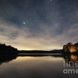 Camping Along Price Lake  by Michael Ver Sprill
