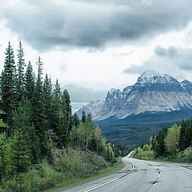 Canada mountain by Debra Baldwin